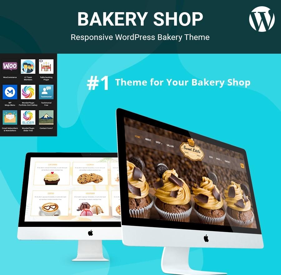 Bakery WordPress Theme, Bakery Website Templates | Webcodemonster