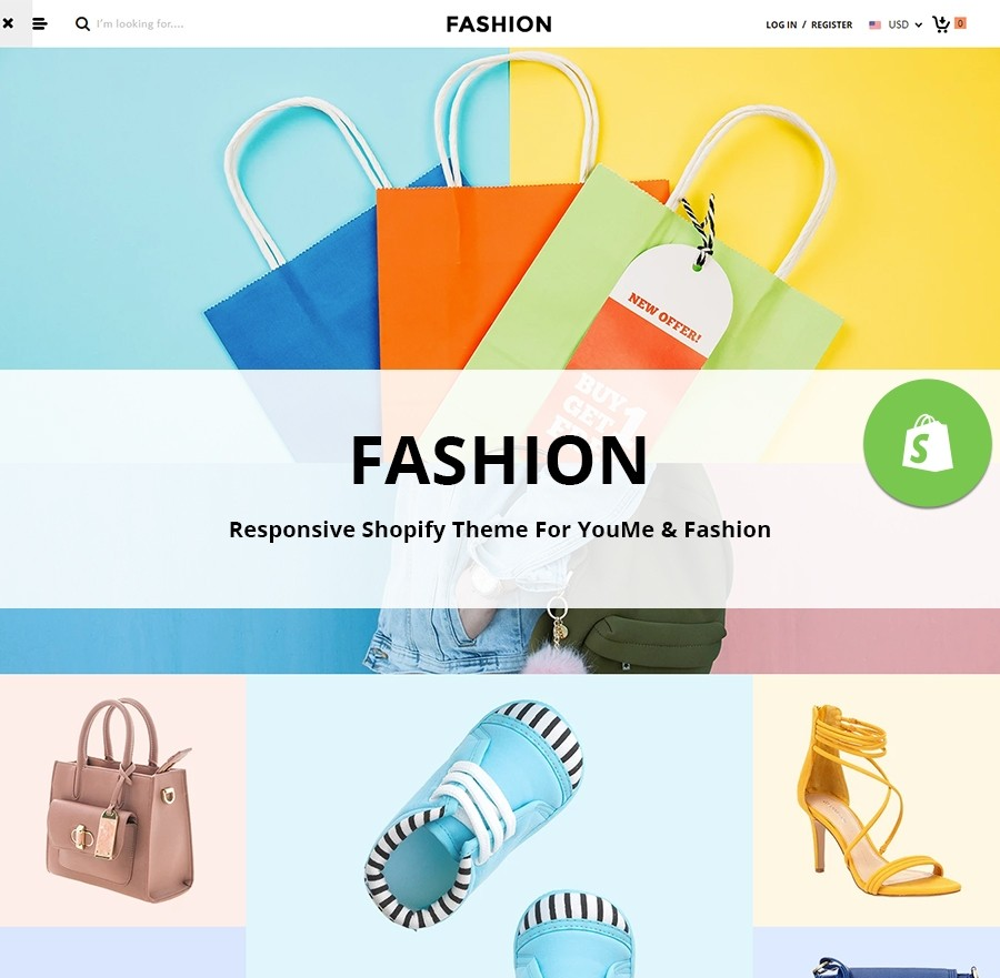 Fashion Shopify Theme | Fashion Apparels Shop - Webcodemonster PRO Themes