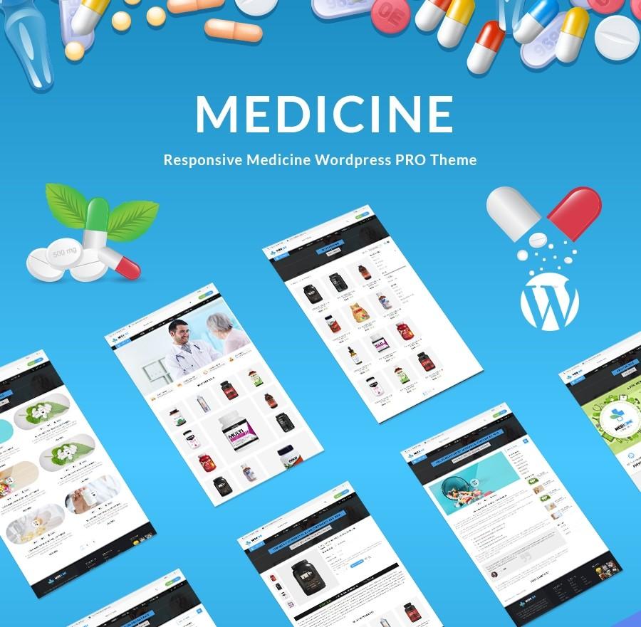 Medical Theme WordPress | Health & Wellness - Webcodemonster PRO Themes